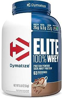 Dymatize Nutrition Elite Whey Shake, Cafe Mocha, 5 Pound (Packaging may vary)