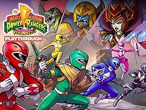 Clip: Power Rangers : Mega Battle Playthrough
