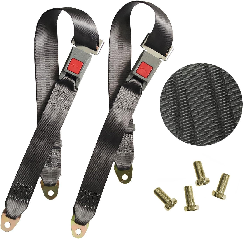 2 Los Angeles Mall Point Adjustable Seat Safety Belt Double Kit Harness Se Single Finally popular brand