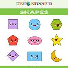 kids discover shapes: Word Book for Children Parts of my shapes with Pictures (KDV 4) (English Edition)