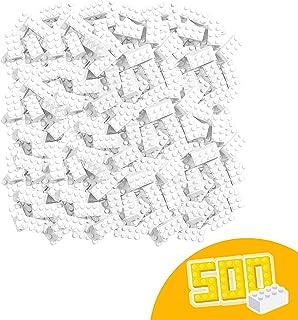 Blox – 500 bloques a granel, color blanco (Simba 4118930) , color/modelo surtido