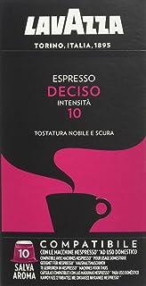 Lavazza Cápsulas de café Deciso compatibles con Nespresso - 10 cápsulas