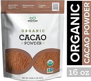 Eternae By Nature Organic Cacao Powder, 16 Oz