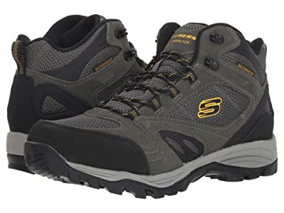 SKECHERS Relaxed Fit Rolton Elero (Charcoal) Men