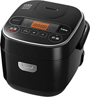 【Amazon.co.jp限定】SmartBasic 炊飯器 マイコン式 3合 極厚銅釜 銘柄炊き分け機能付き ブラック