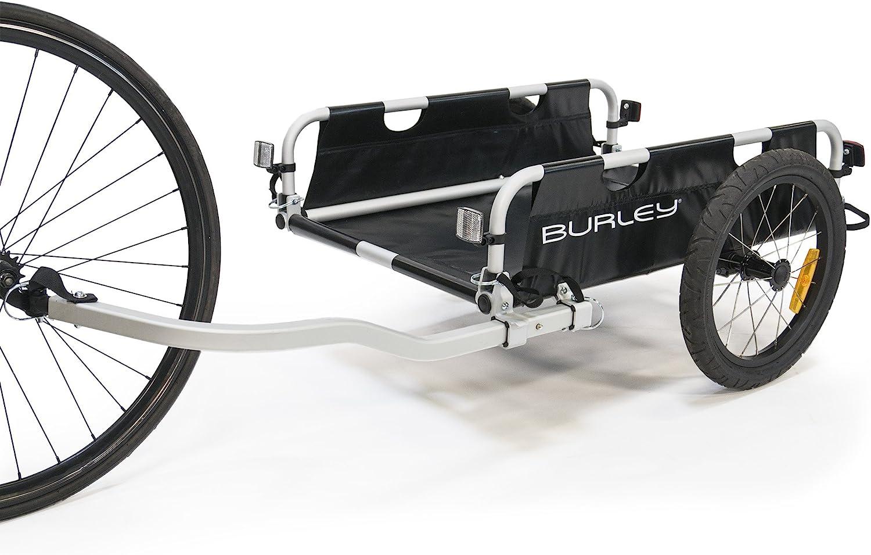 Burley Flatbed Aluminum Utility Cargo Bike Trailer