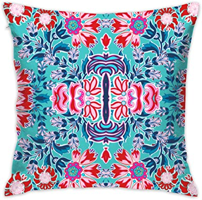 a4a01100bd5d Amazon.com: ZKIRESD Wave Hand Painted Wave Seas Decor Throw Pillows ...