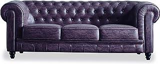 Amazon.es: Sofa Cuero