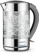 Kambrook Glass Kettle, 1.5 Litre, Clear KKE760CLR
