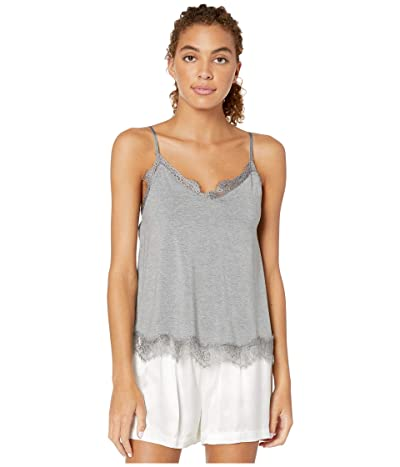 P.J. Salvage Modal Basic Cami (Heather Grey) Women