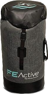 FE Active - Bolso Impermeable 40 litros Mochila a Prueba de Agua Estanca para Deportes Acuáticos y Extremos al Aire Libre, Acampada, Mochilero, Senderismo, Camping | Diseñado en California, EE. UU.