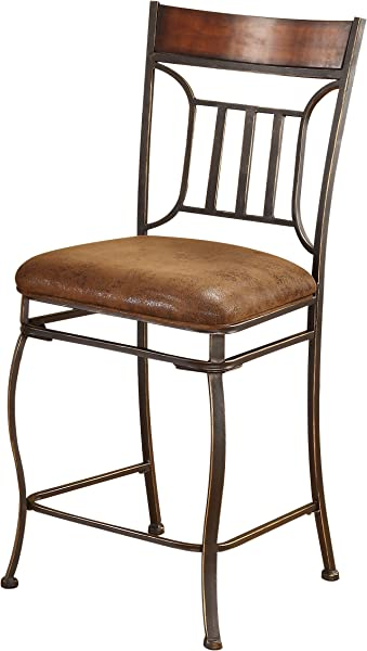 ACME 96058 Set Of 2 Tavio Counter Chair 24 Inch