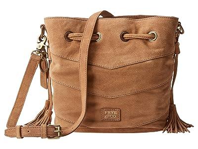 FRYE AND CO. Caden Bucket Bag (Tan) Handbags