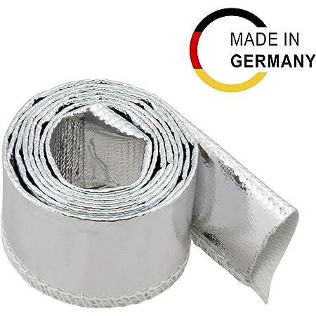 1m Kevlar Titan Hitzeschutzschlauch ID 20mm *** Heat Sleeve Thermoschutz Isolierschlauch Kabelschutz