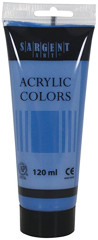 Sargent Art 23-0350 120-Millilitre Tube Acrylic Paint, Primary Cyan