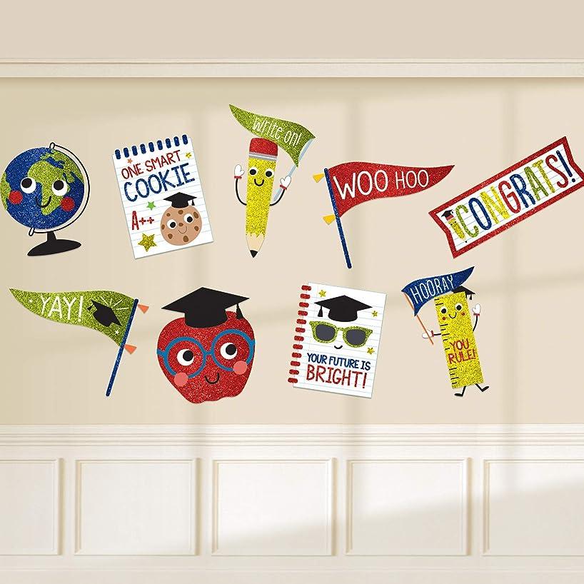 Stumps Graduation Future Dreams Glitter Cutouts