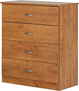 South Shore Libra 4-Drawer Chest, Country Pine