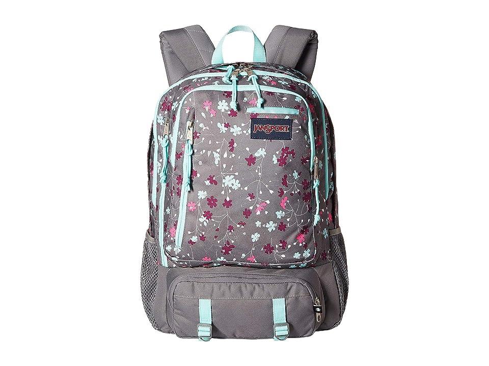 JanSport Envoy Laptop Backpack (Spring Meadow) Backpack Bags