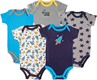 Luvable Friends Unisex Baby Cotton Bodysuits