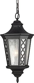 Feiss OL9511TXB Wembley Park Outdoor Pendant Lantern, 3-Light, 180watts, Black (12