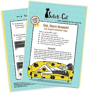 Sofisti-Cat Scratch Deterrent Tape - Clear Double-Sided Cat Anti Scratch Training Tape
