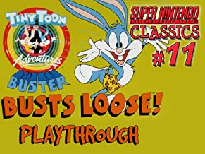Clip: Tiny Toon Adventures Buster Busts Loose Playthrough (SNES Classics 11)
