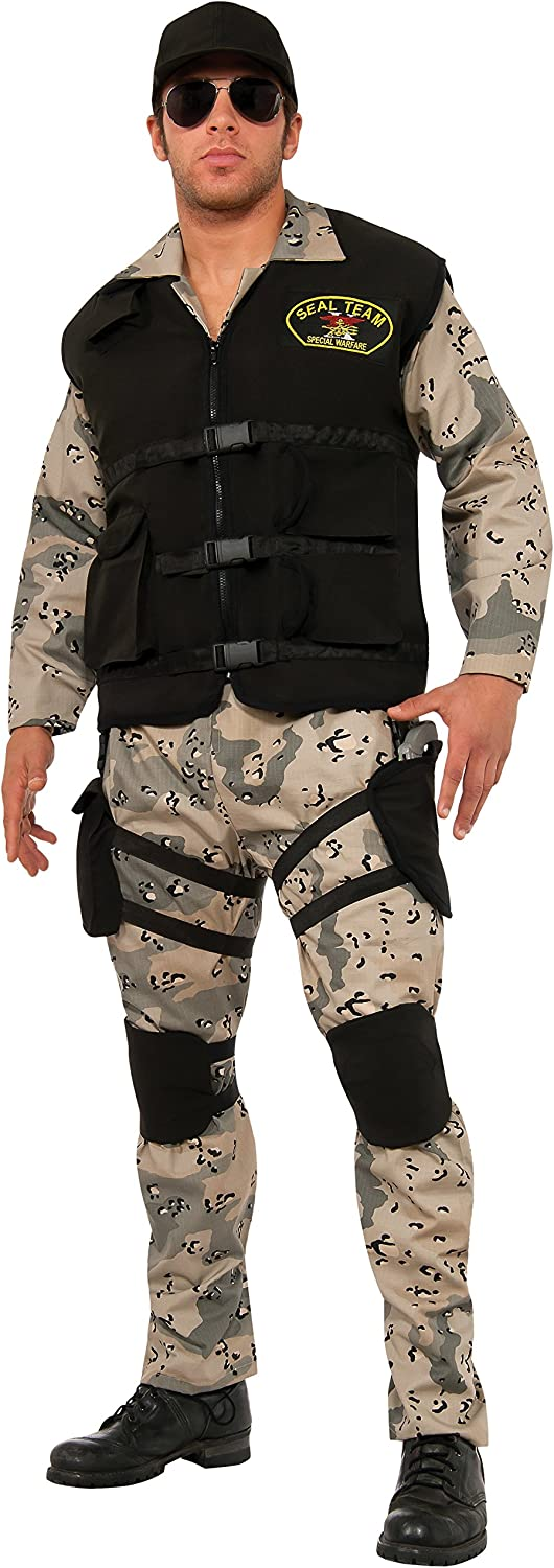 Rubie's Costume Dealing full price reduction Co Men's Max 60% OFF Seal 4 Team