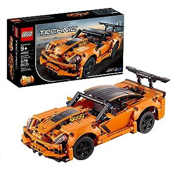 LEGO Technic 42093 Chevrolet Corvette ZR1, Modello 2 in 1 Eccellenza Ingegneristica da Costruire ed Esporre, Set di Costruzioni, Idea Regalo per Ragazzi +9 anni e Appassionati