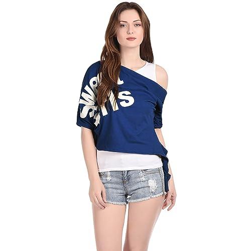 9f13093a3797db Women's Off Shoulder Tops: Buy Women's Off Shoulder Tops Online at ...