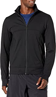 Peak Velocity Men's Cooldown Ultra-soft Athletic-Fit Jacket