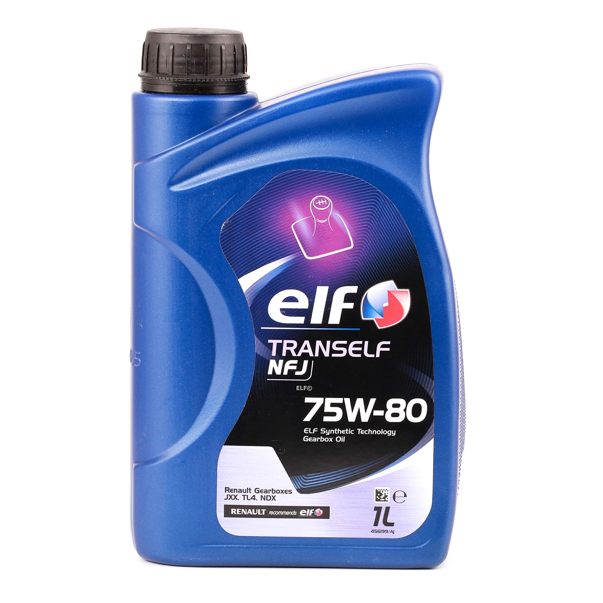 Elf - Trans nfj - Aceite de Caja de Cambios 75w-80, 1l: Amazon.es ...
