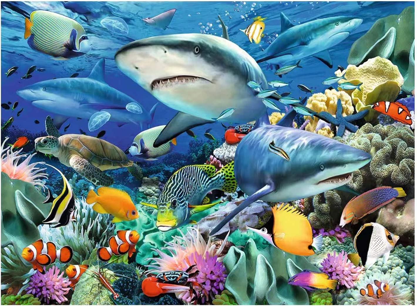 20. 2000 Pieces Shark Virtual Game Puzzle