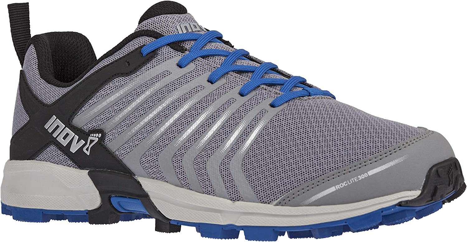 Inov-8 Mens Roclite 300   Trail Running shoes   Perfect Entry shoes for Runners Seeking Comfort & Predection