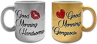Best good morning gorgeous good morning handsome mugs Reviews