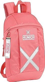 Mini Mochila Uso Diario de Munich Coral, 220x100x390mm