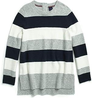 TOMMY HILFIGER suéter a Rayas con Botones magnéticos para Mujer