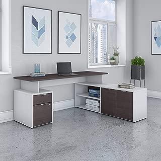 bbf Bush Business Furniture Jamestown 72W L Shaped Desk with Drawers