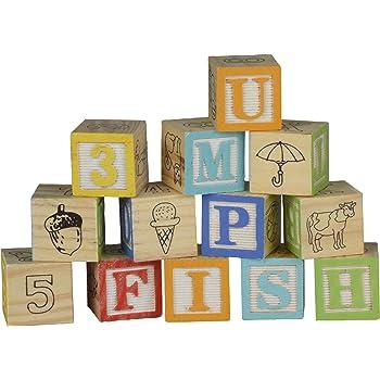 Lot de 30 cubes en bois lettres et chiffres, avec alphabet et autres symboles Longueur des bords : 3 cm.