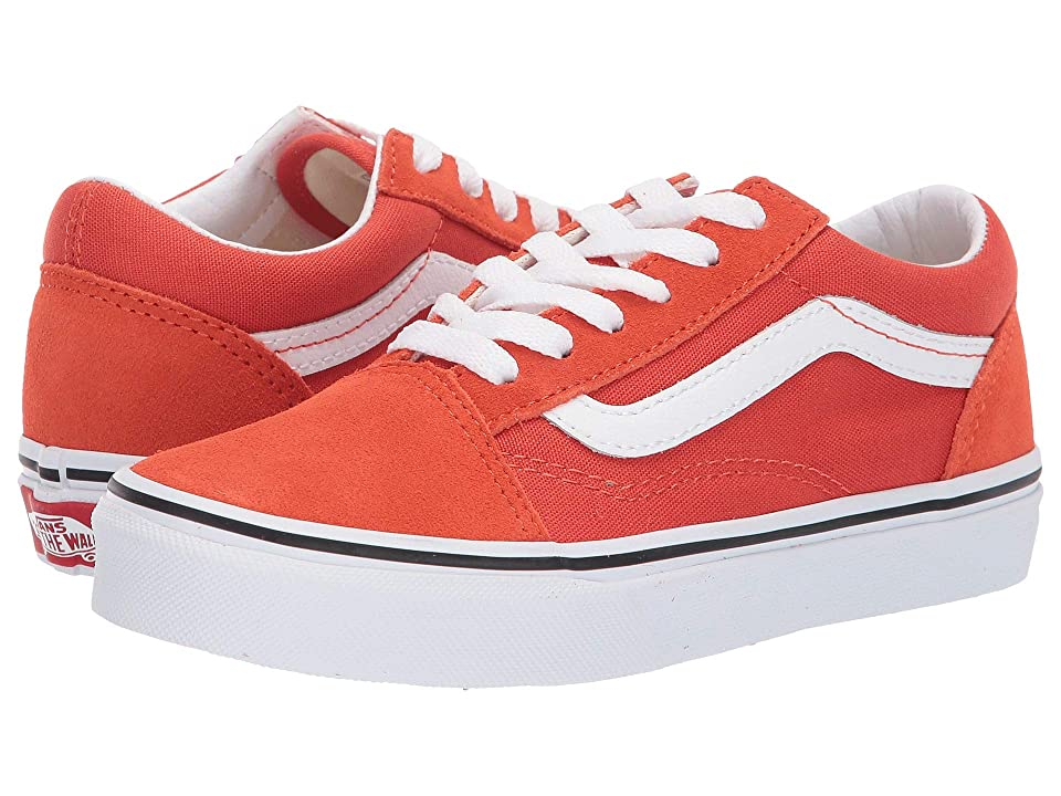 Vans Kids Old Skool (Little Kid/Big Kid) (Koi/True White) Kid