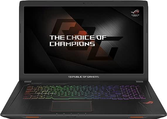 ASUS ROG gl753ve-gc004t Laptop  Display mit 17 3 FHD  1920 1080  LED  Prozessor Intel i7  amp ndash  7700hq  2 8 GHz  128 GB SSD  amp  HDD von 1024 GB  16 GB-Ram  Grafikkarte nVidia GeForce GTX 1050ti  GB
