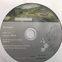 Audi Piezas originales Audi MMI Actualizar CDs de v.5570 para mmi High 2G A4 8E A5 8T