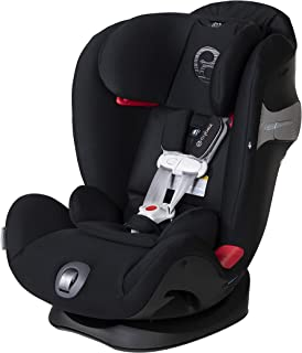 Cybex Eternis S, All-in-One Convertible Car Seat, Use from Birth to 120 lbs, Reclining 12-Position Height-Adjustable Headr...