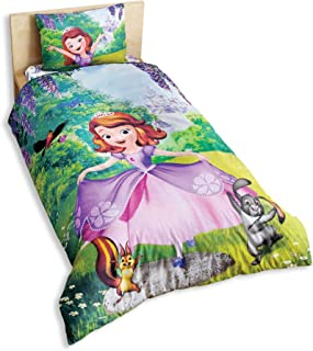 Disney Sofia The First Girl's Duvet/Quilt Cover Set Single / Twin Size Kids Bedding