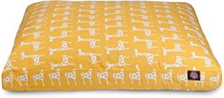 (yellow) - Stretch Large Rectangle Dog Bed