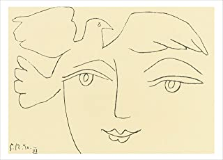 Nouvelles Images The Face of Peace- Picasso Boxed Holiday Card Set (XDB 508)
