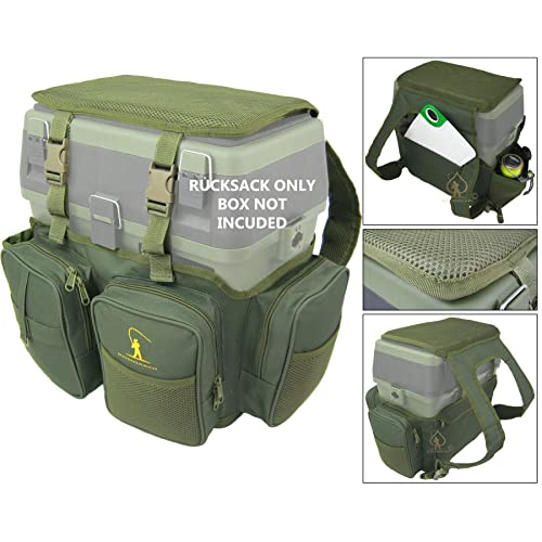 Roddarch Fishing Seat Box Rucksack Converter Roving Backpack - Fits All Roving Type Seat Boxes.