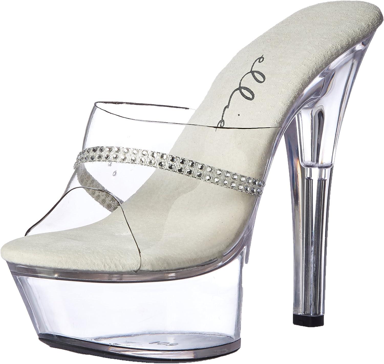 Ellie shoes Women's 601-JESSE 6  Heel Platform Sandal