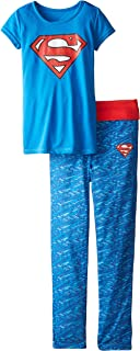 girls superhero pajamas