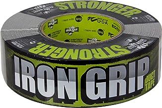 "IPG Iron Grip Heavy Duty Duct Tape, 1.88"" x 35 yd, Black (Single Roll) - IG235"