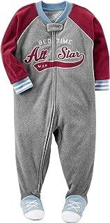 Carter's Boys' 12M-8 Bedtime All Star Fleece Pajamas
